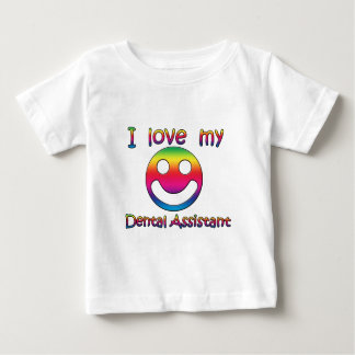 I Love My Dental Assistant Baby T-Shirt