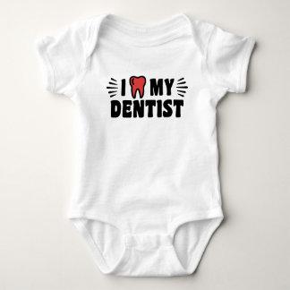 I Love My Dentist Baby Bodysuit