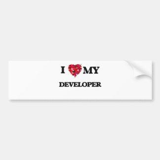 I love my Developer Bumper Sticker
