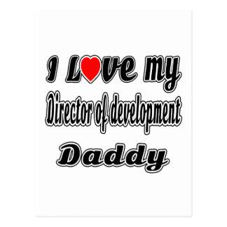 I Love My Director of development Mom Postcard
