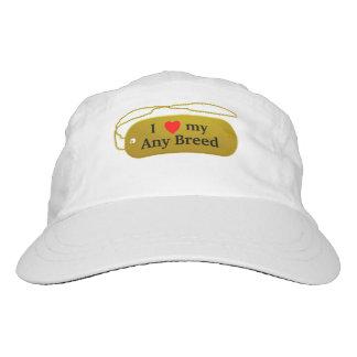 I love my dog breed hat