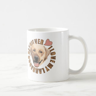 I love my dog - Labrador Retriever Coffee Mug