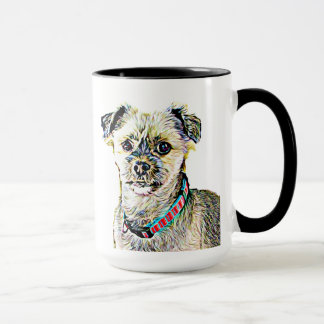 I Love my Dog Personalized Coffee Mug