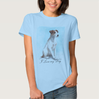 I Love my Dog Tee Shirt