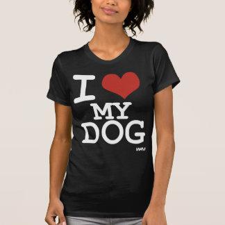 I love my dog tee shirts