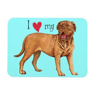 I Love my Dogue de Bordeaux Magnets
