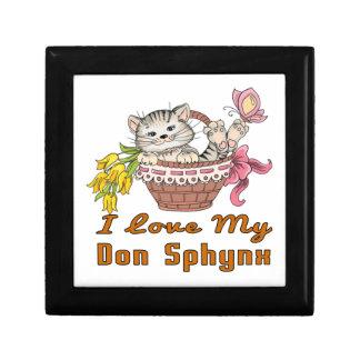 I Love My Don Sphynx Gift Box