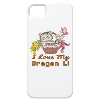 I Love My Dragon Li Barely There iPhone 5 Case