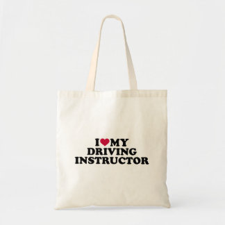 I love my driving instructor tote bag