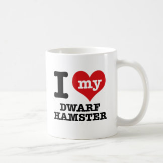 I Love my dwarf hamster Coffee Mug