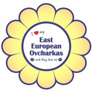 I Love My East European Ovcharkas (Multiple Dogs) Photo Sculpture Decoration