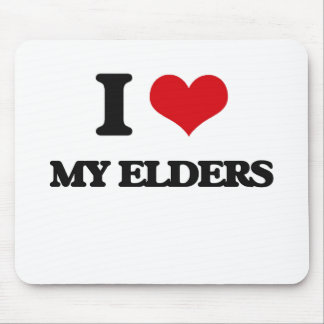 I love My Elders Mouse Pad