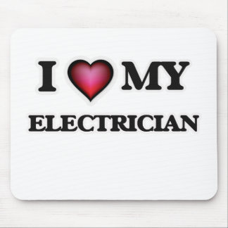 I love my Electrician Mouse Pad