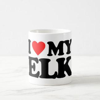 I LOVE MY ELK MUG