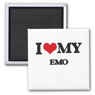 I Love My EMO Fridge Magnets