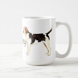 I Love my English Foxhound Coffee Mug