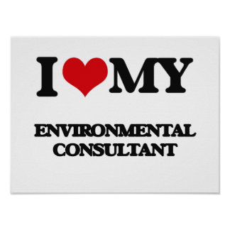 I love my Environmental Consultant Print