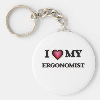 I love my Ergonomist Basic Round Button Key Ring