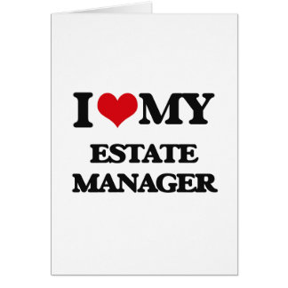 I love my Estate Manager Cards