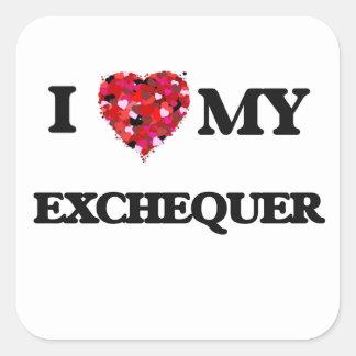 I love my Exchequer Square Sticker
