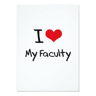 I Love My Faculty Custom Announcement