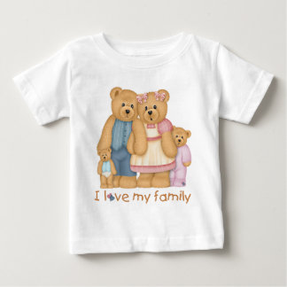 I Love My Family Infant's Tshirt