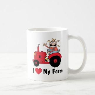 I Love My Farm Coffee Mug