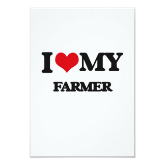 I love my Farmer Personalized Announcement