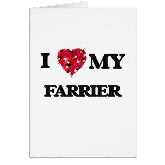 I love my Farrier Card