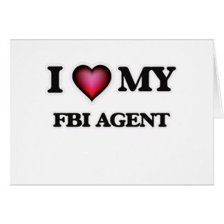 I love my Fbi Agent Card