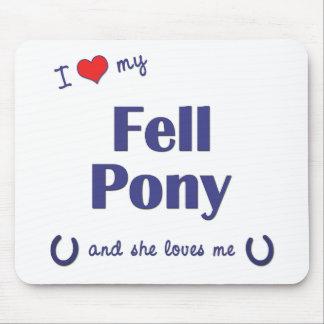 I Love My Fell Pony (Female Pony) Mouse Pad