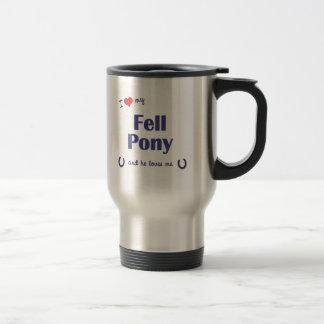 I Love My Fell Pony (Male Pony) Travel Mug
