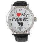 I Love My Ferret Watch