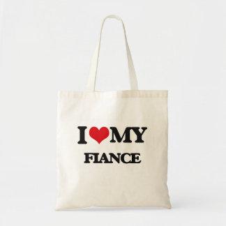 I love my Fiance Budget Tote Bag
