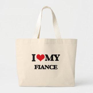 I love my Fiance Jumbo Tote Bag