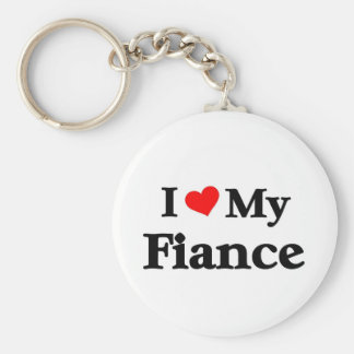 I love my Fiance Key Chains