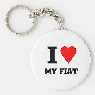 I love my fiat key ring