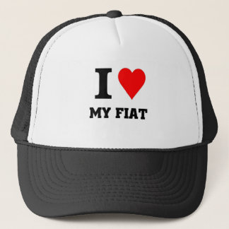 I love my fiat trucker hat