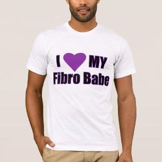 I Love My Fibro Babe T-Shirt