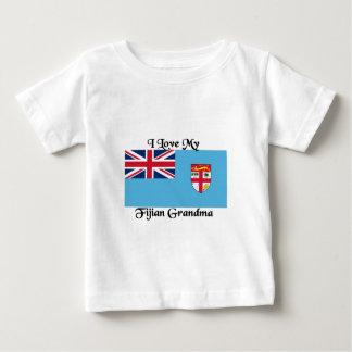 I love my Fijian Grandma Baby T-Shirt
