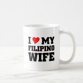 I love my Filipino Wife Coffee Mug