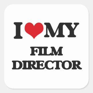I love my Film Director Sticker