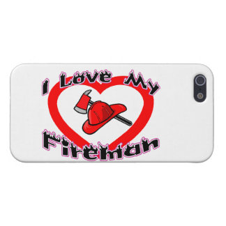 I Love My Fireman iPhone 5/5S Cover