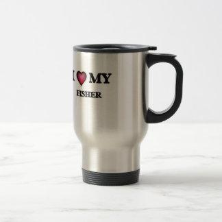 I love my Fisher Travel Mug