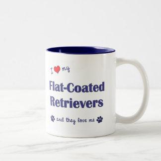 I Love My Flat-Coated Retrievers (Multiple Dogs) Coffee Mug