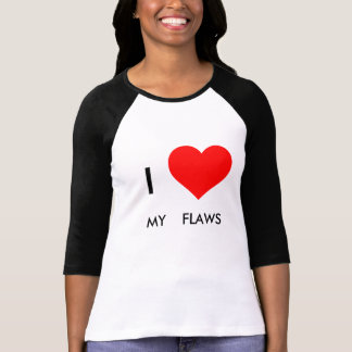 I Love My Flaws Long Sleeve Shirt
