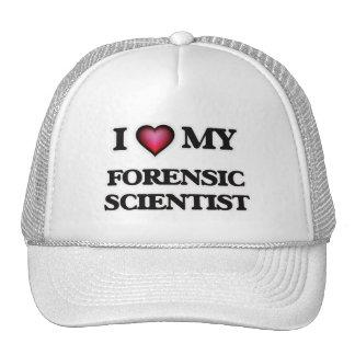 I love my Forensic Scientist Cap