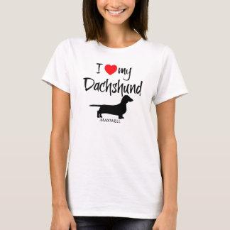 I Love My Foxhound T-Shirt