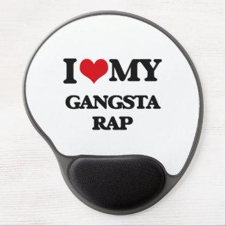 I Love My GANGSTA RAP Gel Mouse Mat