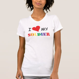 i love my GAY soldier T-Shirt